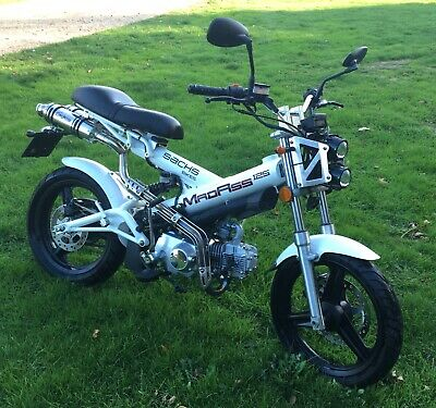 Mint condition Sachs Madass 125 Motorcycle Scooter Moped Monkey Bike