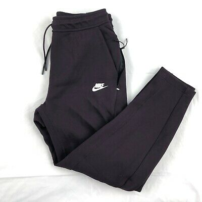 af587af624d3 Nike Tech Fleece Jogger Pants Sweatpants Burgundy Dark Red 928507-659 Mens  S-M