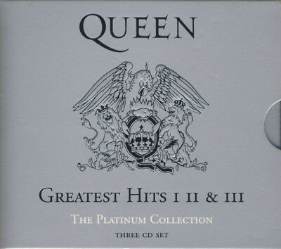 Queen. Greatest Hits: I II & III: The Platinum Collection.  NEW