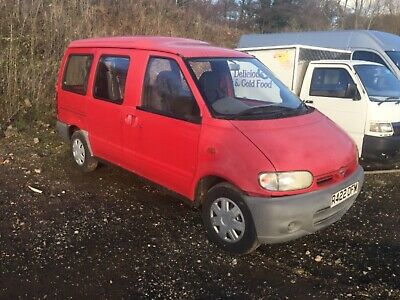 Nissan Vanette Cargo Lwb Very Good Engine And Box Only 39000 Miles