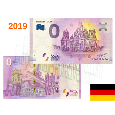 Billete 0 Euro Souvenir '' Berlin Dom '' 2019