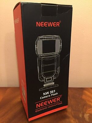 Neewer NW561 Speedlite Flash Light LCD Display for Canon Nikon D7200 D7100 D7000