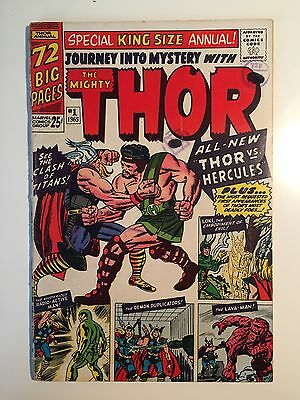 Journey Into Mystery Annual 1 GD 1st Hercules 1965
