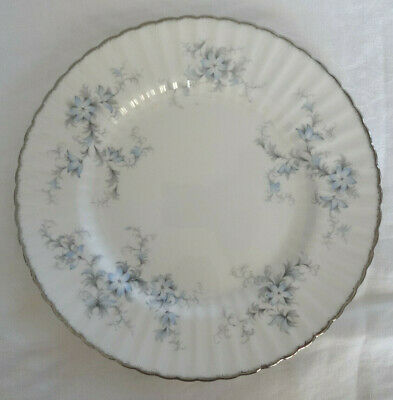 Paragon England  BRIDE'S CHOICE  2 SALAD OR DESSERT  PLATE  platinum rim