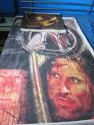 2 Tlg Fan Bettwäsche Der Herr Der Ringe Lord Of The Rings Movie Bed