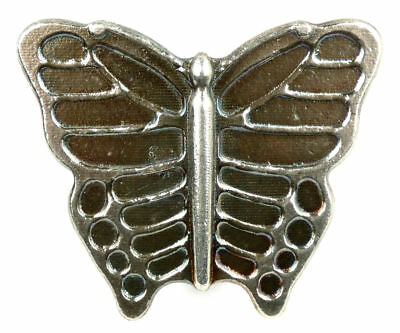 YPS Yeager's Poured Silver Patina Finish Butterfly 5 oz .999 Fine Silver Bar