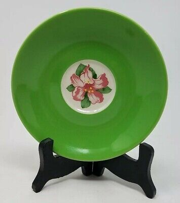 The Greenbriar Hotel - Saucer - D. Draper- Rhododendron Homer Laughlin RW China