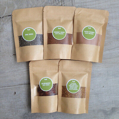 250g Superfood Smoothie Kit - Chia Cacao Goldenberry Coconut Sugar Flaxseed Goji