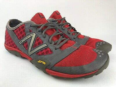 purchase cheap 7a000 18377 NEW BALANCE MT20TR Minimus Vibram Barefoot Red Mens Trail Running Shoes US  13 D