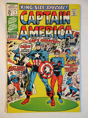 Captain America King-Size Special #1, FN