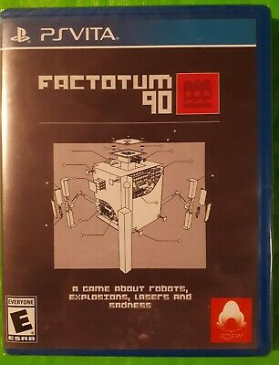FACTOTUM 90 - Limited Run Games #121 - for SONY PS VITA. BRAND NEW/SEALED