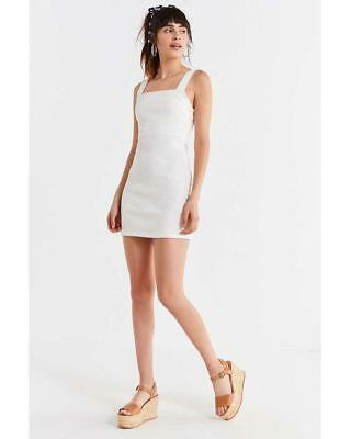 b4a69983362 NWOT URBAN OUTFITTERS MOTEL COLETTE STRAPPY SEQUIN MINI DRESS sz S ...