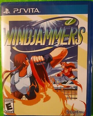 WINDJAMMERS - Limited Run Games #91 - SONY PS VITA. BRAND NEW/SEALED