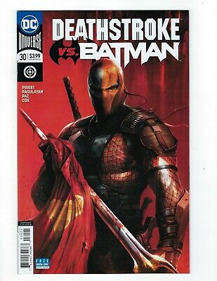 Deathstroke # 30 Mattina Variant Cover NM DC