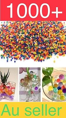 1000+ Orbeez Mixed Colours Crystal Water Plant Beads Bio Hydro Gel Ball Garden