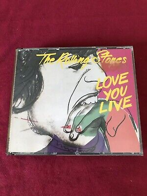 The Rolling Stones Love You Live 2 CD Made In Japan For Europe CBS