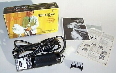 Vintage Oster Professional Detachable Blade A-5 Animal Grooming Clipper, Box