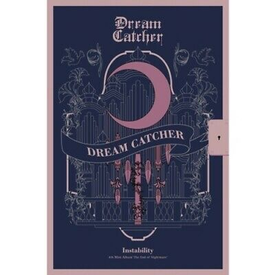 Dream Catcher-[The End Of Nightmare] 4th Mini Instability CD+Poster+Book+Card
