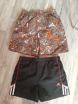 2 shorts de bain ADIDAS/PACIFIC MOTION taille 12 ans