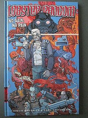 Lobster Random No Pain, No Gain 2000 AD Graphic Novel Comic Hardback Book NEW