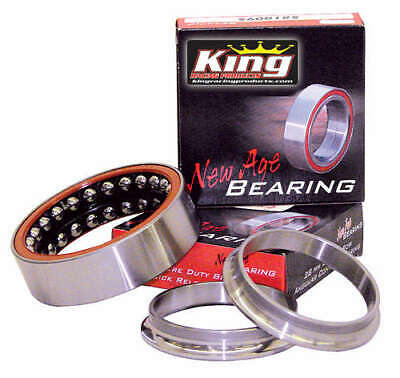 King Racing Products 1725 Steel Birdcage Bearing - 28 mm Angular Contact