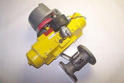 "Worcester Flanged 1"" Pneumatic Actuated Ball Valve W/ Positioner"