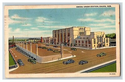 "1976 Vintage CITY /""OMAHA 1867 /"" Color Art Lithograph NEBRASKA FOREST HILL VIEW"