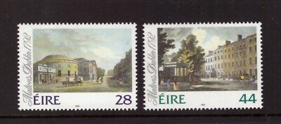 Ireland MNH 1992 Art,James Malton's Paintings of Dublin set mint stamps