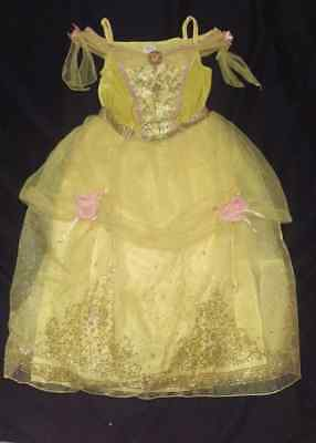 Deluxe~INTERACTIVE~BELLE~Costume~DRESS+WAND+TIARA~LIGHT UP~SING~NWT~Disney Store