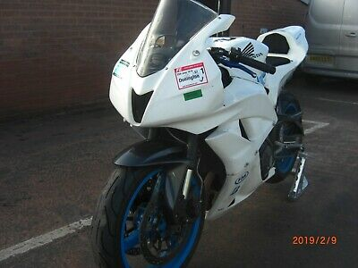 Honda CBR600rr, Track Bike with V5