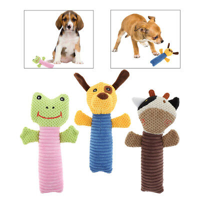 Pet Products Dog Squeak Toys with Cute Animal Shape Bite-resistant