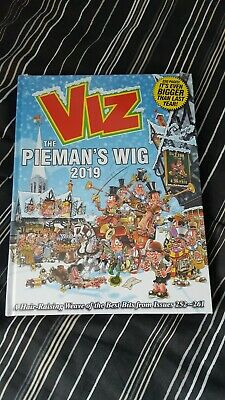 VIZ Annual 2019 The Pieman's Wig NEW Sealed