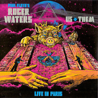 """ROGER WATERS : """"Live In Paris"""" (Live 2018)  (RARE 2 CD)"""