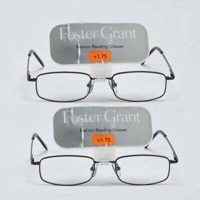 be01cab643d6 READING GLASSES FOSTER Grant Magnivision 2.50+ Reading Glasses Value ...