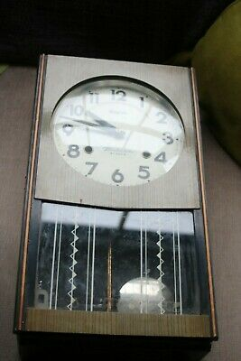 Vintage Japanese 30 day chiming Clock Not working Your courier collect only