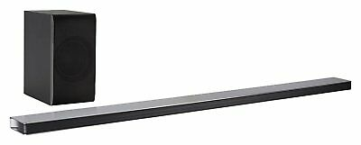 LG SJ8 4.1 Soundbar (300 W Wireless Subwoofer, Bluetooth) Black. B