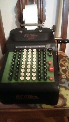 Vintage R. C. Allen business Machines  Incorporated made in the USA