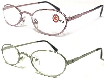 L274 Super Valued (3 Pairs Only £4.99) Fancy Ladies Pink Small Reading Glasses