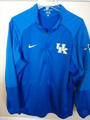 11bef1ca30881 Authentic Nike Elite Dri-Fit Kentucky Wildcats NCAA L S Shooter Shirt Men L