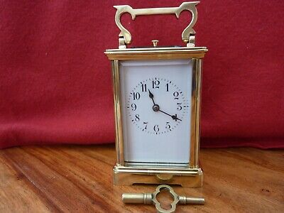 Brass Carriage Clock ...repeater/striking