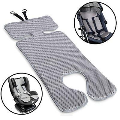 Lebogner 3D Air Mesh Cool Baby Seat Liner for Strollers, Car Seats, Jogger, and