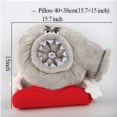 Turbo Shape Pillow Soft Plush Toy JDM Cushion Decor Headrest Car Seat Teddy