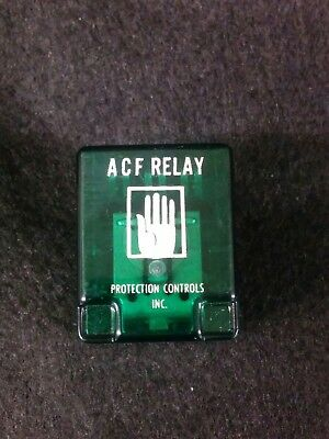 Protection Controls Inc ACF Relay