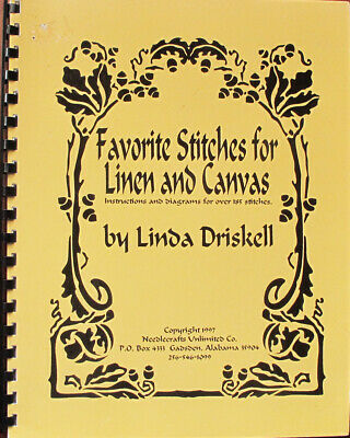 Linda Driskell Favorite Stitches for Linen & Canvas Counted Thread Reference