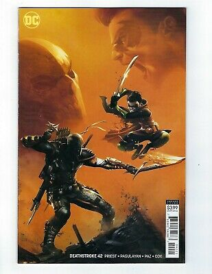 Deathstroke # 42 Mattina Variant Cover NM DC Pre Sale Ships 04/03