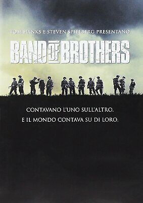 1446800 268594 Dvd Band Of Brothers - Fratelli Al Fronte (6 Dvd)