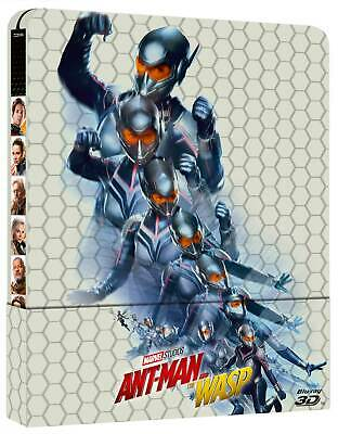 2480276 206372 Blu-Ray Ant-Man And The Wasp (3D) (Blu-Ray 3D+Blu-Ray) (Ltd Steel