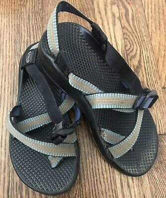 0ef711d5426a CHACO Z 1 UNAWEEP Strappy Black Vibram Slingback Sandals Women s ...