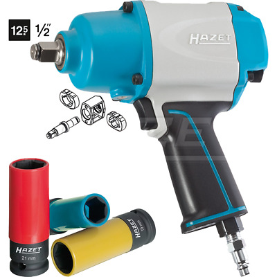 "Hazet 9012-1SPC/4 1000Nm Solid 12.5mm (1/2"") Impact Wrench w/ Assortment"