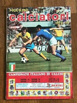 Album sticker PANINI CALCIATORI 1972 73 COMPLETE wc football foot figurine wc 70